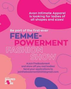 Avon's First Femme-powerment Fashion Show