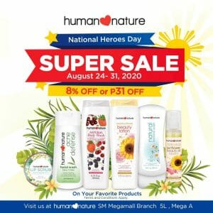 Human Nature - National Heroes Day Super Sale