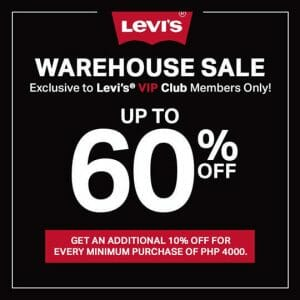 Levi's - First Online Warehouse Sale