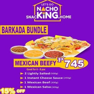 Nacho King - Mexican Beefy Barkada Bundle for ₱749