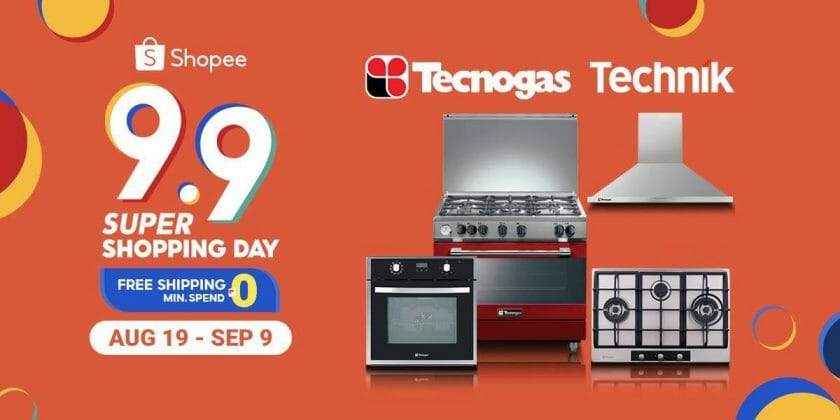 Tecnogas - Shopee 9.9 Super Shopping Day