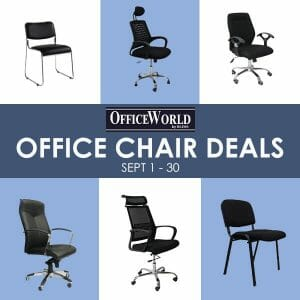 Get savings with the OfficeWorld Office Chair Deals