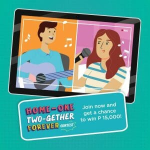 Get a Chance to Win ₱15,000 in Sony Philippines' Home-oke Two-gether Forever Contest