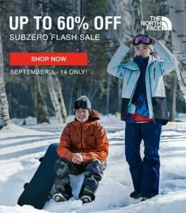The North Face - Subzero Flash Sale: Up to 60% Off