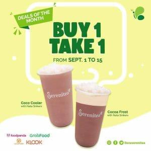 Serenitea - Buy 1, Take 1 Promo