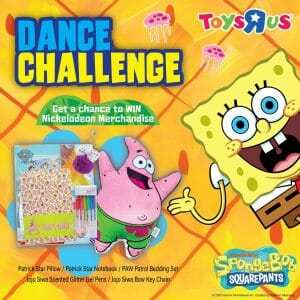 Join the SpongeBob Dance Challenge to WIN Awesome Nickelodeon Merchandise