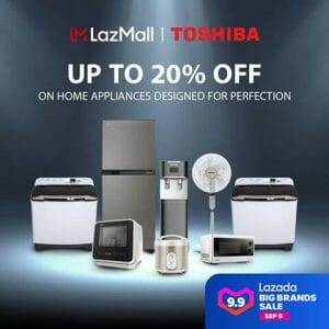 Toshiba - 9.9 Big Brands Sale: Up to 20% Off Home Appliances