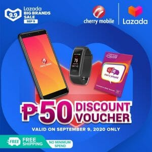 Cherry Mobile - Lazada 9.9 Sale: Get Discount Vouchers