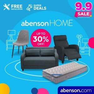 Abenson - 9.9 Sale: Get Up to 30% Off + FREE Installation