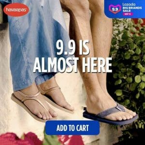 Havaianas - 9.9 Lazada Big Brands Sale: Get Up to 45% Off and FREE Shipping