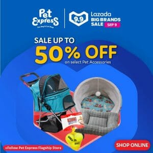 Pet Express - 9.9 Lazada Big Brands Sale: Up to 50% Off on Select Pet Accessories