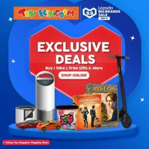 Toy Kingdom - 9.9 Lazada Big Brands Sale: Buy 1, Take 1 FREE Gifts and More