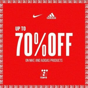 Toby's Sports - Up to 70% Off on Nike and Adidas Products