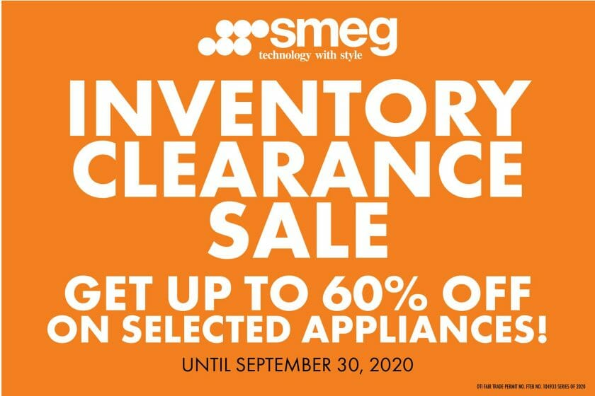 Smeg - Inventory Clearance Sale: Get Up to 60% Off on Selected Items