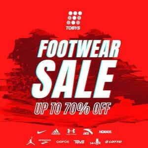 Toby's Sports - Footwear Sale: Up to 70% Off