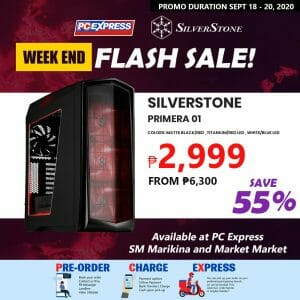 PC Express - Weekend Flash Sale: Silverstone PC Chassis Up to 55% Off