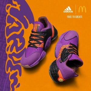 Adidas x McDonald's Sauce Pack - Featuring 4 Different All-star Collaborations