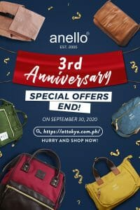 Anello - 3rd Anniversary Special Offers