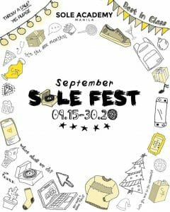 Sole Academy - September Sole Fest: 50% Sale on All Products