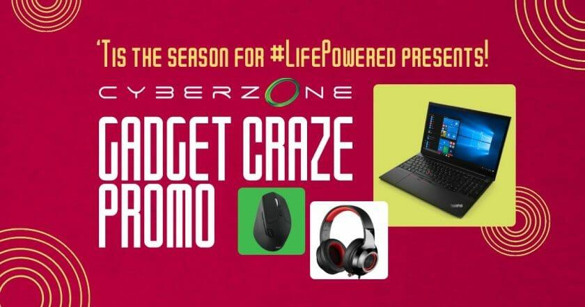 SM Cyberzone - Gadget Craze Promo: Get a Chance Win a Life Powered Productivity Setup