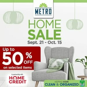 The Metro Stores - Home Sale: Up to 50% Off on Selected Items