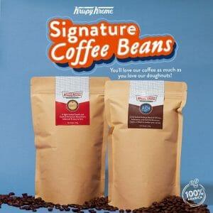 Krispy Kreme - Signature Coffee Beans for ₱419 per Bag (Bundle of 2 for ₱799)