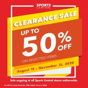 Sports Central - Clearance Sale: Up to 50% Off on Selected Items