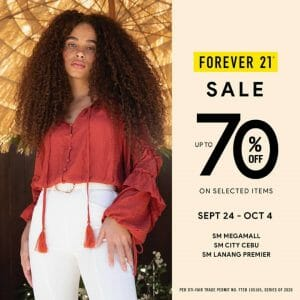 Forever 21 - Online Sale: Up to 70% Off on Selected Items