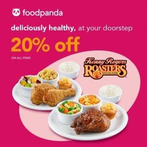 Kenny Rogers Roasters - Get 20% Off When You Order via Foodpanda
