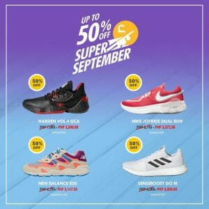 Capital - Super September: Up to 50% Off on Footwear