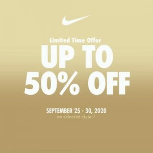 Nike Park Philippines - Up to 50% Off on Selected Nike Items