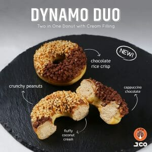 J.CO Donuts & Coffee - Introducing Dynamic Duo Donut