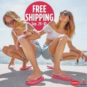 Havaianas - FREE Shipping When You Purchase via LazMall