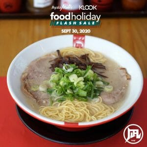 Ramen Nagi - Food Holiday Flash Sale: Get 25% off on ₱500 and ₱1000 Vouchers Purchased in Klook
