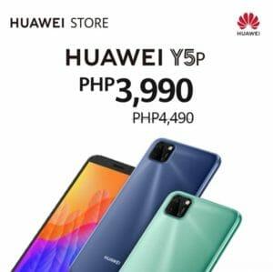 Huawei - ₱500 Off on Huawei Y5p