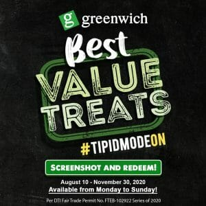 Greenwich - Screenshot and Redeem Promo: Get Coupons and Redeem Selected Best Value Treats