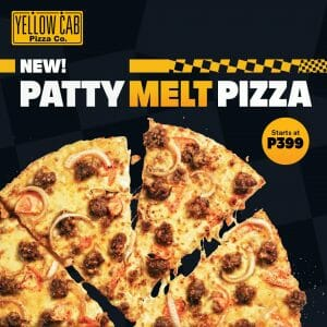 Yellow Cab Pizza - Introducing the New Patty Melt Pizza