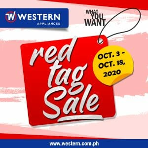 Western Appliances - Red Tag Sale: Up to 30% Off on Selected Items