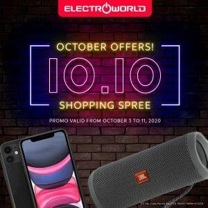 Electroworld - 10.10 Sale: Get the Best Gadget Deals