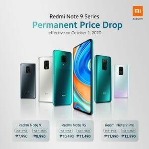 Xiaomi - Redmi Note 9 Series Permanent Price Drop