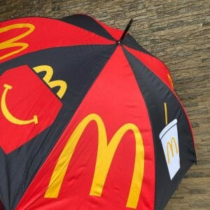 McDonald's - EXTENDED: FREE Limited Edition McDo Umbrella for Every Purchase of 1-pc Chicken McDo with Rice & Coke No Sugar
