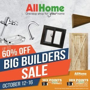 AllHome - Big Builders Sale: Up to 60% Off