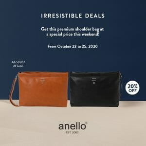 Anello - Irresistible Deals: Get 20% Off on Shoulder Bags