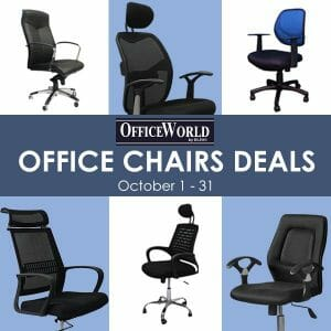 OfficeWorld by Blims - Office Chairs of the Month Deals