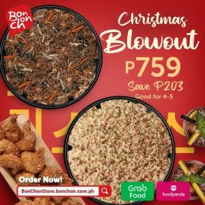 Bonchon Chicken - Christmas Blowout for ₱759 (Save ₱203)