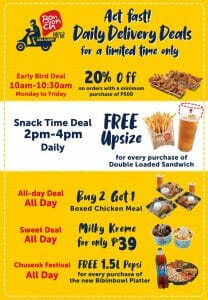 Bonchon - Limited Time Discounts on Daily Delivery Deals