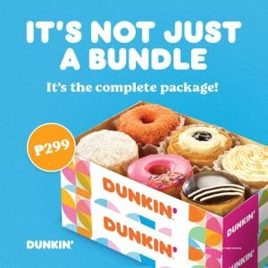 Dunkin Donuts - Barkada Bundle for ₱299