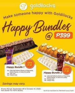 Goldilocks - Happy Bundles for ₱399 (Save ₱51)