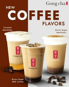 Gong cha - Introducing New Coffee Flavors