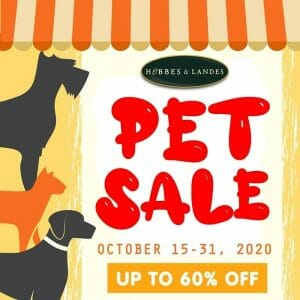 Hobbes and Landes - Pet Sale: Get Up to 60% Off